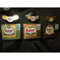Rótulos De Cerveja Nacionais Kaiser - Década 90!