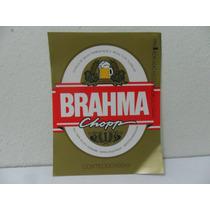 Rótulo De Cerveja - Brahma Chopp (novo)