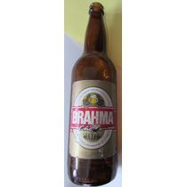 Garrafa Antiga Cerveja Brahma Chopp 600ml - Vazia - B13