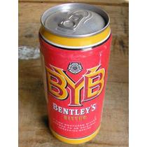 Latão Cerveja Bentley´s Byb - Inglaterra- Cheia -1995