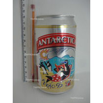 Lata (vazia) Cerveja Antarctica Verão 97