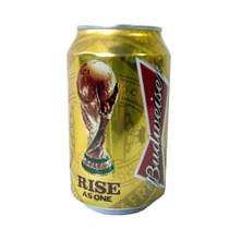 Lata Budweiser Rise As One Copa Brasil 2014