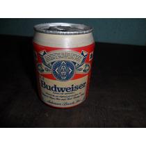 Lata De Cerveja Budweise Antiga