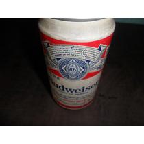 Lata De Cerveja Budweise Antiga Cheia