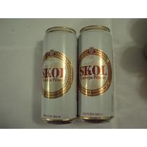 Lata Cerveja Skol Antiga 500ml De 1994 Excelente Estado