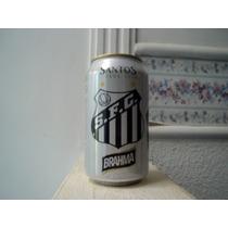 Lata Cerveja Brahma Santos - Vazia
