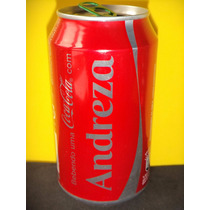 Lata Coca-cola Zero Nomes Andreza 2015 Rexam N116