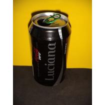 Lata Coca-cola Zero Nomes Luciana 2015 Rexam N173