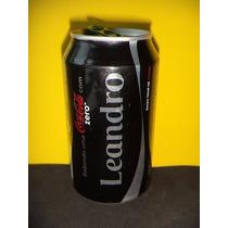 Lata Coca-cola Zero Nomes Leandro 2015 Rexam N174