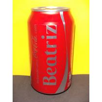 Lata Coca-cola Zero Nomes Beatriz Bia 2015 Rexam N175
