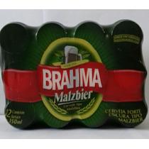 Cerveja Brahma Malzbier Pack Com 12 Latas De 350ml