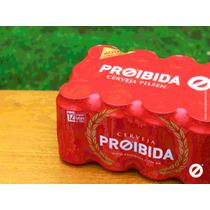Cerveja Proibida Pack Com 12 Latas De 350ml