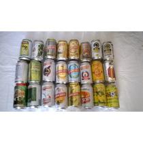 Lote:24 Latas Vazias Cerveja ( Bavaria , Schincariol , Skol