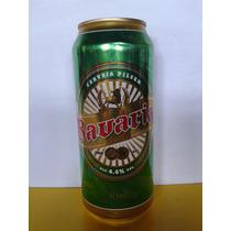 Lata Cerveja Bavaria Latão Verde