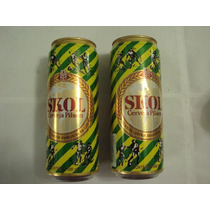Lata Cerveja Skol Antiga 500ml Copa De 1994 Excelente Estado