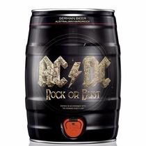 Barrilete 5 Litros Cerveja Karlsberg Banda Acdc German Beer