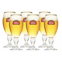 Jogo Com 6 Taças Stella Artois