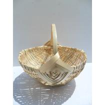 Cesta De Bambu Modelo Japonesa Artesanato Cozinha (fp)