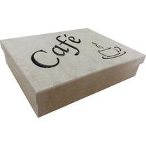 Porta Capsulas- Café Três Coraões - Mdf -crú