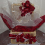 Cesta Presente Dia Dos Namorados 30 Mini Chocolate Pelucia
