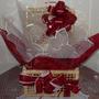 Cesta Pascoa Presente 30 Mini Chocolate E Mini Coelho
