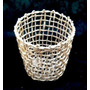Cachepot Vaso Conico- Palha De Milho 18x14x16 - Ecobalaio