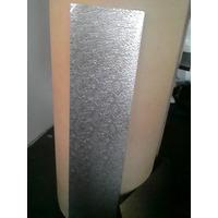 Chapa Aluminio Stucco 1000x500mm Na Esp. De 0,4mm (estuque)
