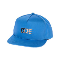 Dope Boné Snapback Mens O Metal Do Ouro Logo