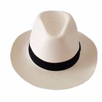 Chapéu Estilo Panamá Modelo Clássico Feminino Masculino