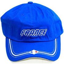 Copa Do Mundo Nacional France Hat Cap - (2 Cores), Azul Real