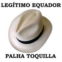 Chapéu Panamá Fino Original Equador - Paja Toquilla