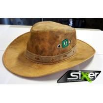 Chapéu Cowboy Country Tipo Couro Americano Boiadeiro Chaparr