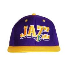 Nba Retro Utah Jazz Snapback Chapéu Boné - 2 Tom
