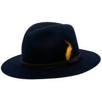 Chapéu Pralana Classic Hunter-azul Marinho-tamanho 57