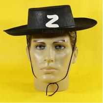 Chapéu Do Zorro Infantil / Chapéu Fantasia De Zorro Infantil