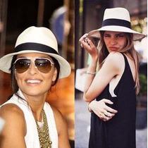 Chapéu Estilo Panamá Modelo Social Clássico Luxo (unisex)