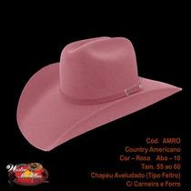 Chapeu Country Rodeio Aveludado Festa Peao Western Mcallen