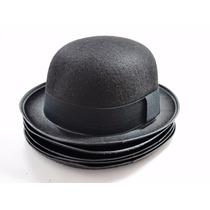 Chapéu Chaplin Bowler Coco - Preto - Promoção