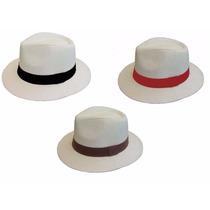 Chapéu Estilo Panamá Modelo Social Clásico Compre 1 Leve 3