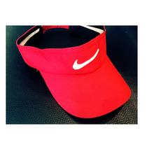 Viseiras Inspired Nike Vermelha E Azul Marinho