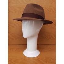Chapeu Indiana Jones Marrom Ou Preto - Frete Grátis