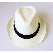 Chapéu Estilo Panamá Modelo Clássico Casual Praia (unissex )