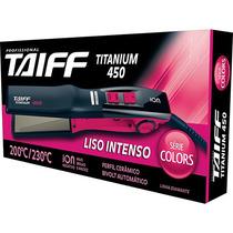 Chapa Bivolt 200ºc / 230ºc - Titanium 450 Rosa Pink - Taiff