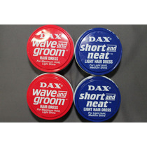 4 Ceras Dax 2 Latas Wave + 2 Latas Super Net