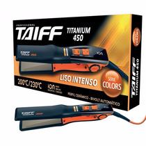 Chapinha Prancha Taiff Titanium 450 Profissional Bivolt 230°