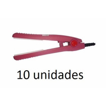 Kit 10 Unidades Mini Chapinha De Ions 110/220 Volts Rosa