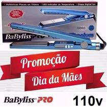 Prancha / Chapa Babyliss Pro Nano Titanium Original110v