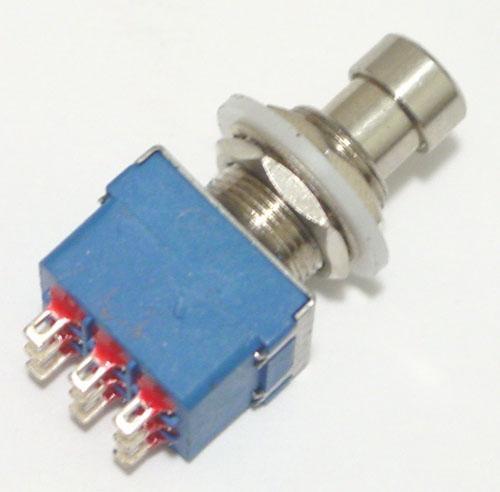 Chave 3pdt ( 3 Pdt ) De 9 Terminais Azul Promoção Limitada