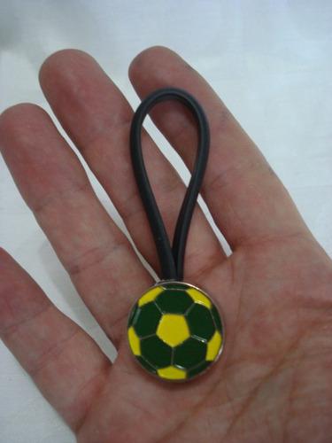 Chaveiro Brasil Copa 2014 Bola Frete Gratis