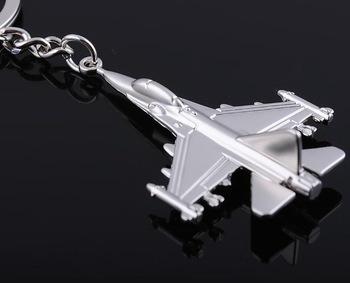Chaveiro Em Metal * Modelo Avião Caça F16 * Frete Grãtis